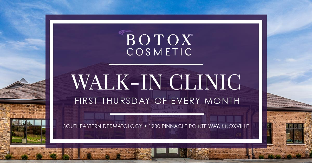 Walk-In Botox First Thursday Of Every Month