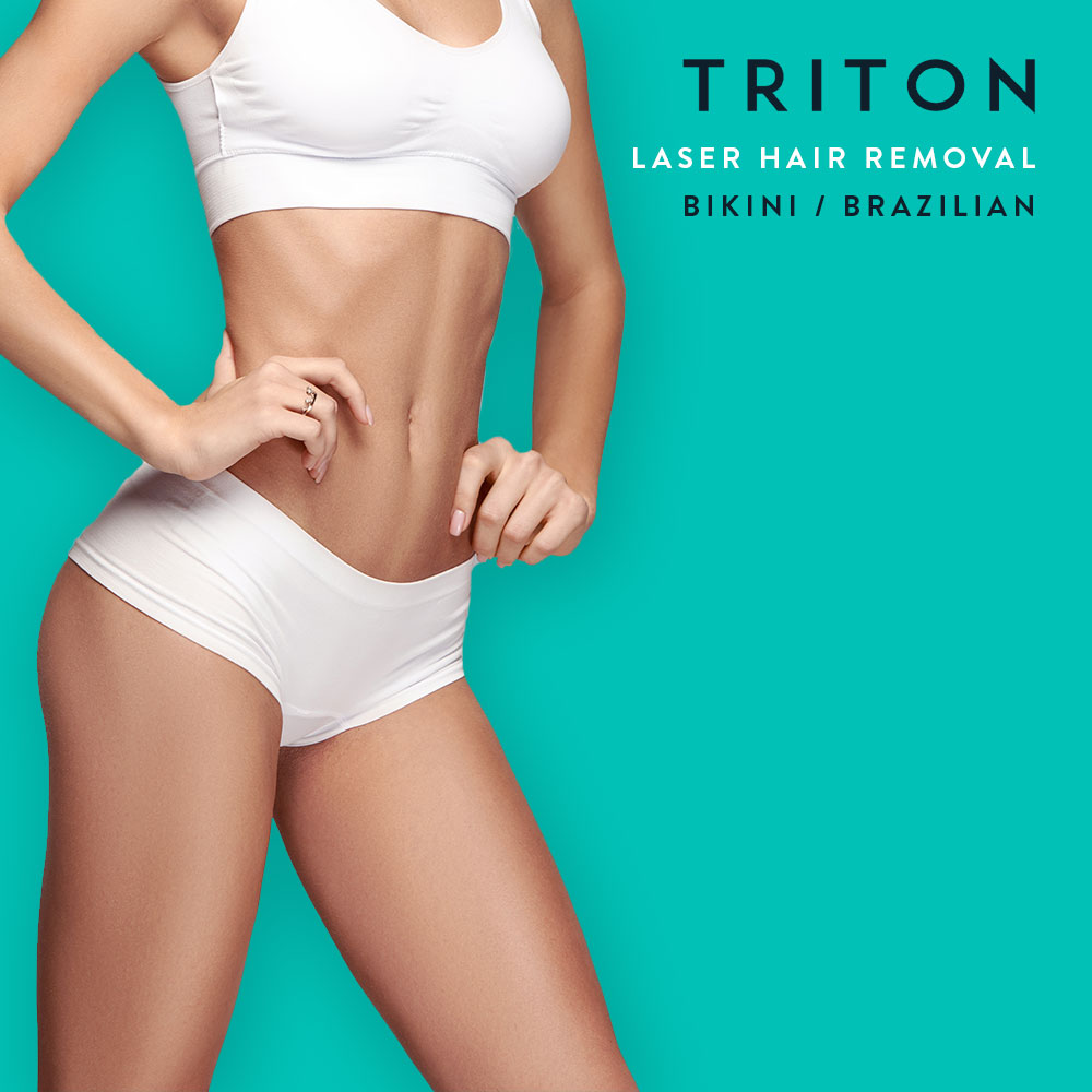 Laser Treatment Triton Laser Hair: Bikini/Brazilian