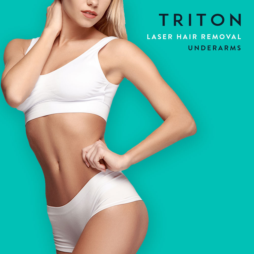 Laser Treatment Triton Laser Hair: Underarms