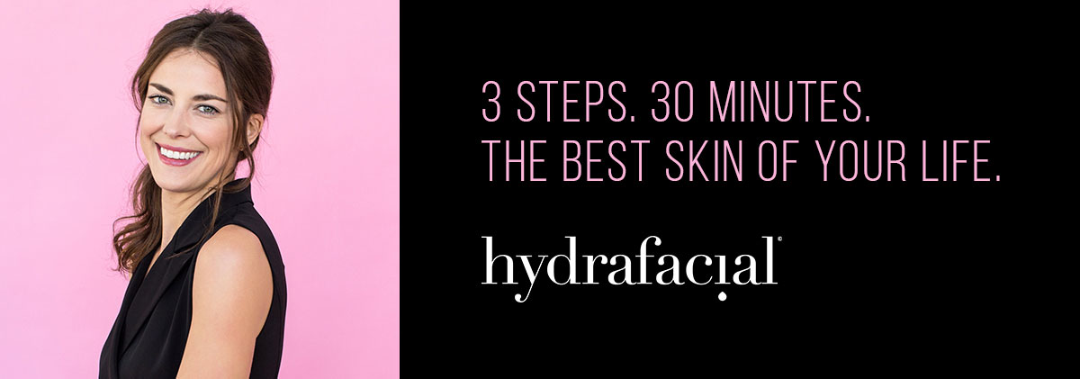hydrafacial non-invasive facial treatment