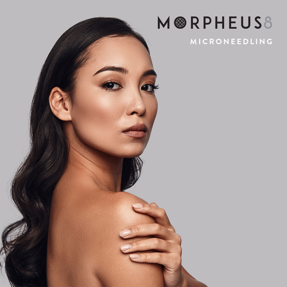Facial Treatment Morpheus8 Microneedling