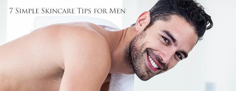 7 Simple Skincare Tips For Men Southeastern Dermatology