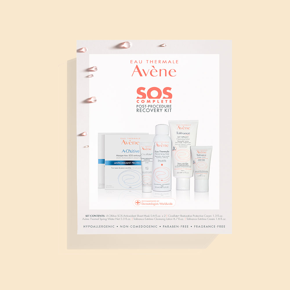 Avène Skin Care SOS Complete Post-Procedure Recovery Kit