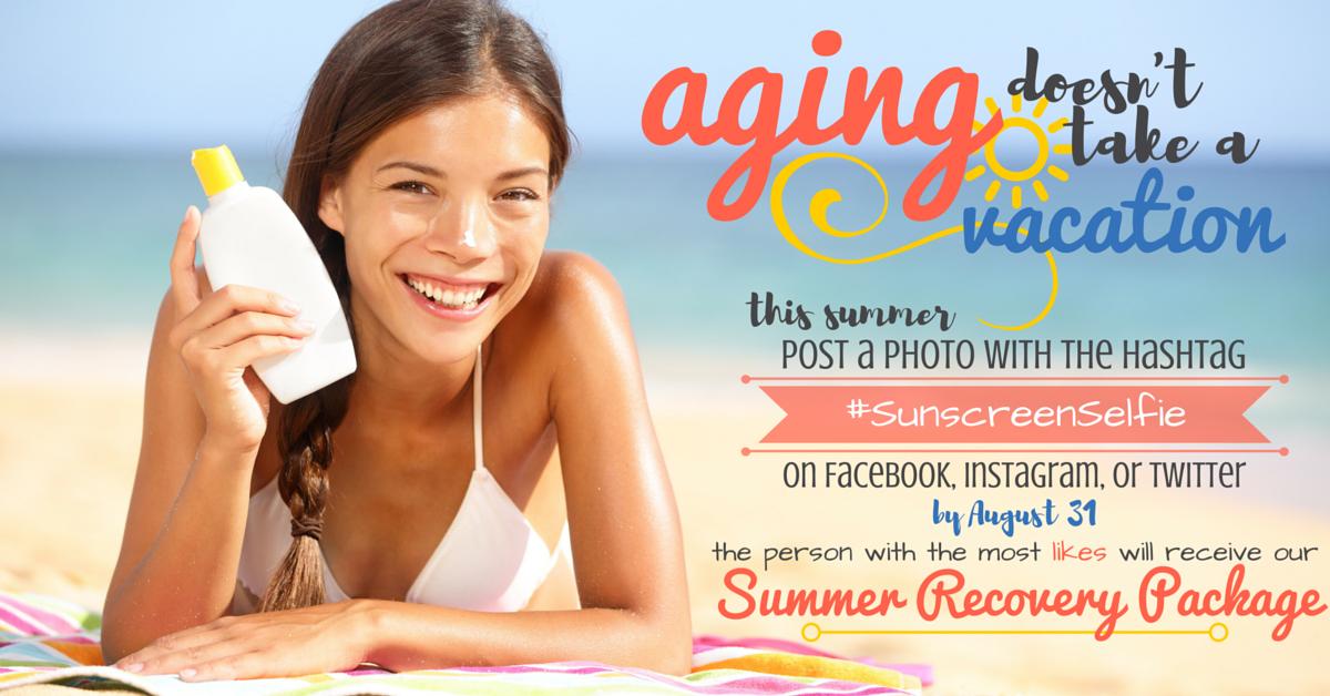 #SunscreenSelfie Summer Contest