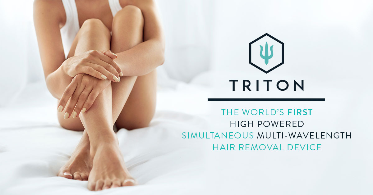 Triton: The Standard For Fast Laser Hair Removal